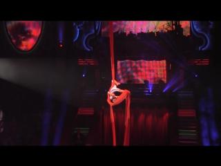 16-й Московский Международный Молодежный цирковой фестиваль. Елена Соловьева. Воздушные полотна