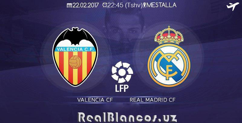 """Valensiya"" - ""Real Madrid"": PREVYU"