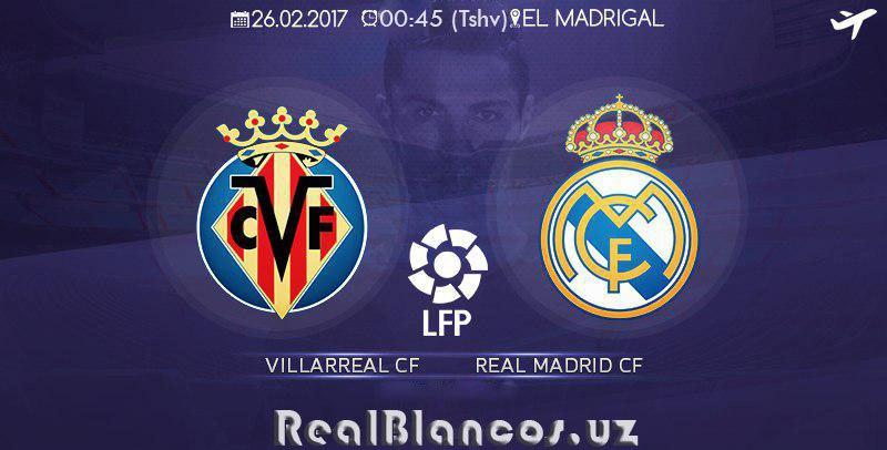"""""""Vilyareal"""" - """"Real Madrid"""": PREVYU"""