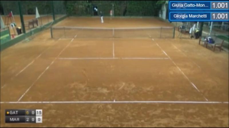ITF Women Santa Margherita Di Pula 25k R1 2017 Gatto-Monticone vs Marchetti