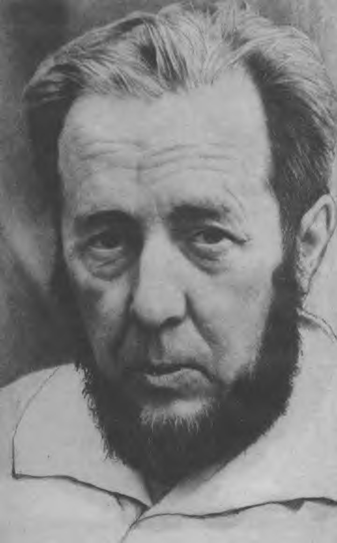Александр Солженицын. Слово при получении премии «Золотое клише» (1974)