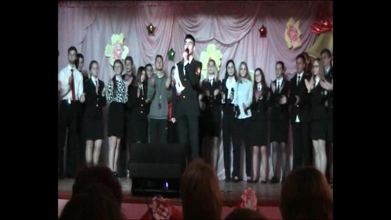 12школаАрзамасденьучителявыступлениесын 🎉🎤💥06.10.2017 концерт к Дню учителя.