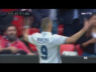 Атлетик - Реал. Гол Бензема