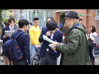 [РУСС. САБ] 170216 EXO Lay Zhang Yixing 张艺兴 @ 'Operation Love' BTS