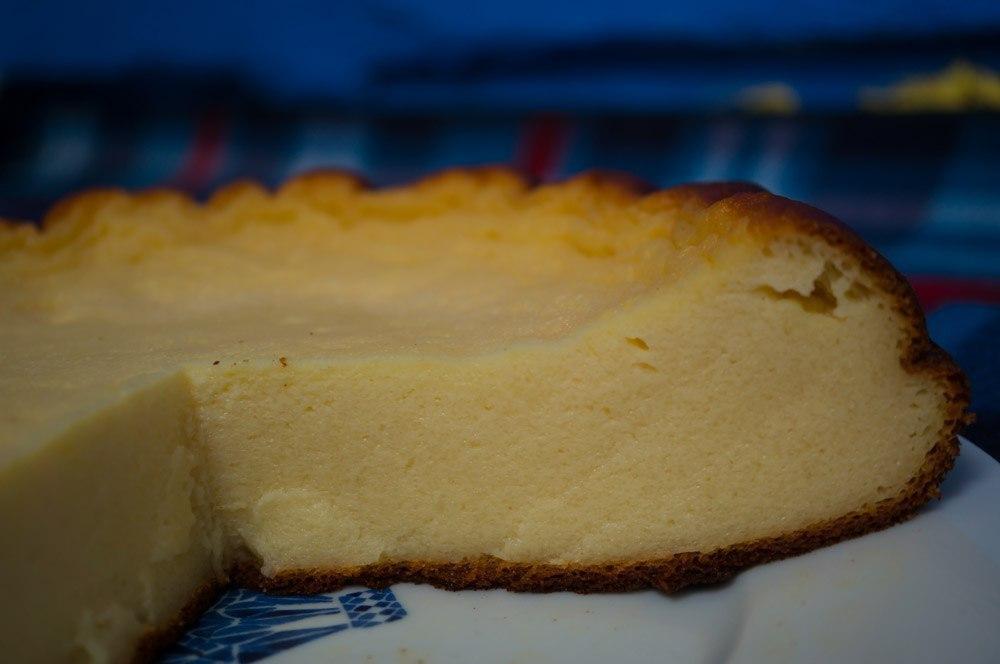 Пирог творожный с кефиром