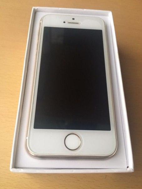 Продаю Iphone 5s(золотистый) на гарантии, цена 12000р. (Небольшой торг
