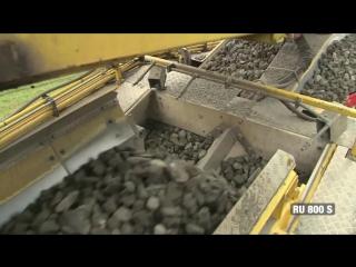 Как работает гигантская машина по замене железнодорожных путей (6 sec)