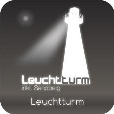 Leuchtturm inkl. Sandberg
