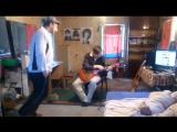 Митягин-евгей пляшет под свою народную музыку и просит заслать ему шекелей