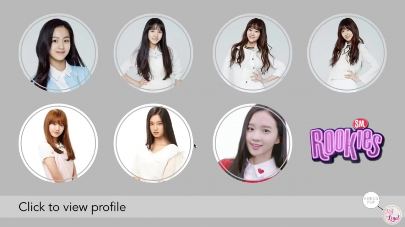 SMRookies SR17G Members Profiles