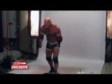 Behing the scenes of Goldberg first WWE photo shoot in 12 years: 19/11/16