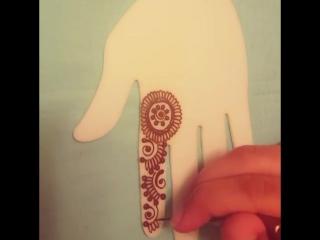 Учимся рисовать мехенди
