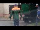 Ямочный ремонт в Бобруйске. Начало ремонта