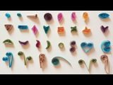 Quilling Basic Shapes