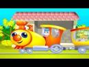 Веселый обучающий мультфильм для детей про путешествие паровозика