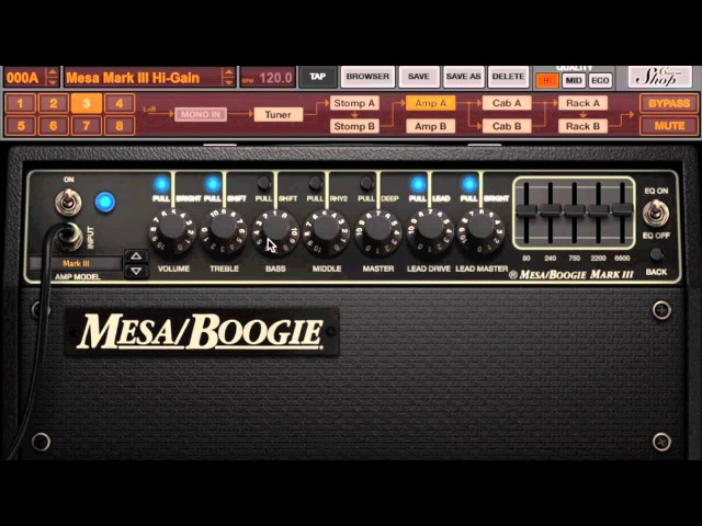 IK Multimedia MesaBoogie collection Mark III