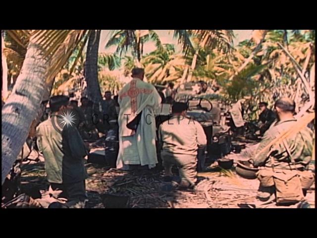 Месса. Остров Макин - ноябрь 1943 г.