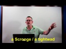 Learn English: Daily Easy English 1012: a Scrooge, a tightwad