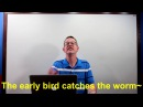 Learn English: Daily Easy English 1018: The early bird gets the worm~