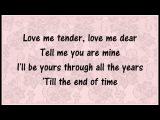 Love Me Tender - Norah Jones INSTRUMENTAL karaoke
