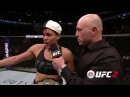 Amanda Nunes Thanks King Conor McGregor after KO victory over Ronda Rousey