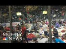 Hurricane Irma Hundreds Of Thousands Take Refuge In State's Shelters NBC Nightly News