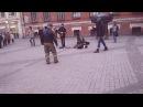 Уличные музыканты Питера исполняют Нирвану а народ отрывается вместе с ними Nirvana