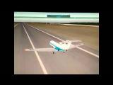 X-Plane. Взлет с торца полосы(Як-40)
