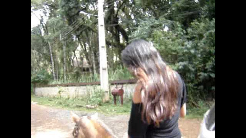 Cavalgada Monte Verde com jumento Sertanejo e égua Estrela