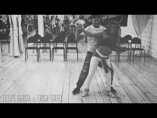 Felipe Garcia Erica Tintel in Krasnoyarsk   ZOUK   DEMO