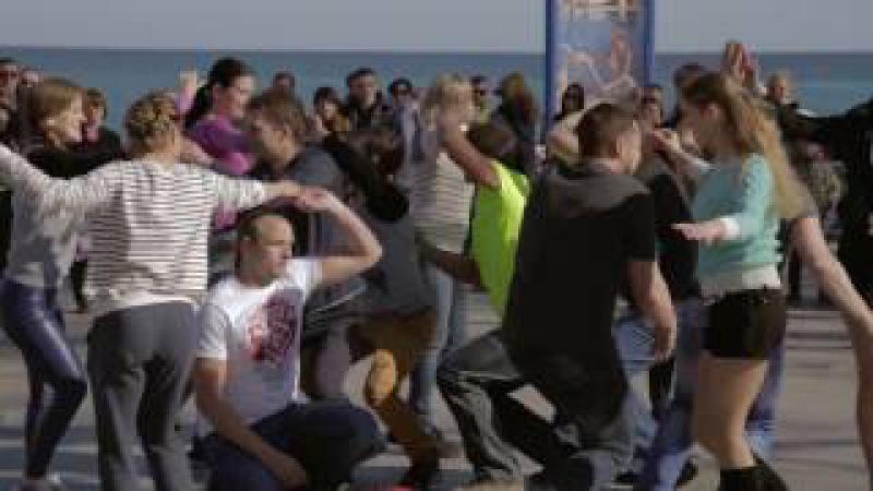 International Rueda Flashmob Yalta Russia Аpril 1, 2017.
