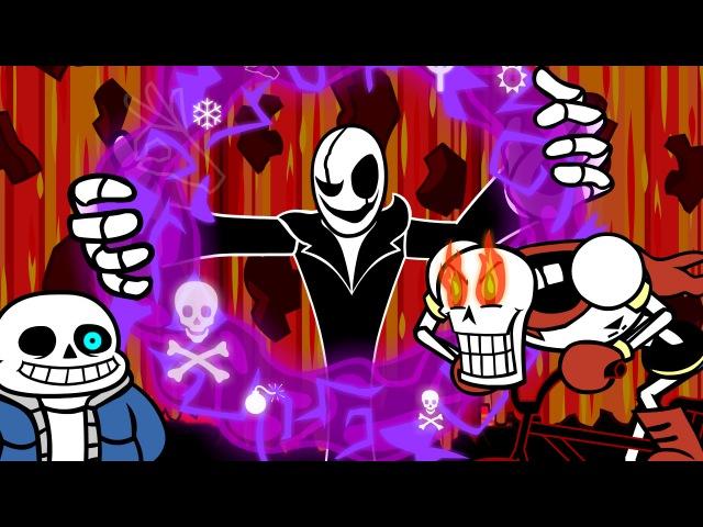 Animated Undertale Remix SharaX Dark Darker Yet Darker