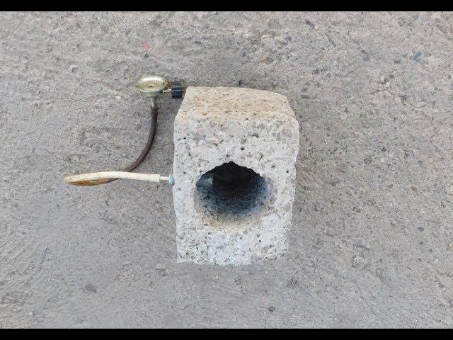Апгрейд обычной газовой горелки (минигорн и приспособа для труднодоступных мест).