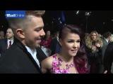 X Factor stars Matt Terry and Saara Aalto discuss the future at the NTAs