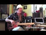 TRACII GUNS guitar lesson