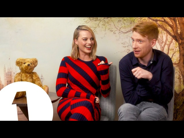 Have you ever heard anything like it! Margot Robbie on Domhnall Gleesons armpit farts
