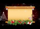 Футаж рамка Новогодняя для текста 3