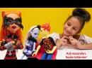 MonsterHigh okulunda AŞK oyunları! eğlencelivideo Barbie, Ken ve Elsa ile!