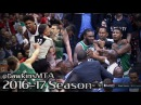 Washington Wizards vs Boston Celtics Full Bad Blood Play in 2017 ECSF Game 3 - 8 Techs, 3 Ejections!