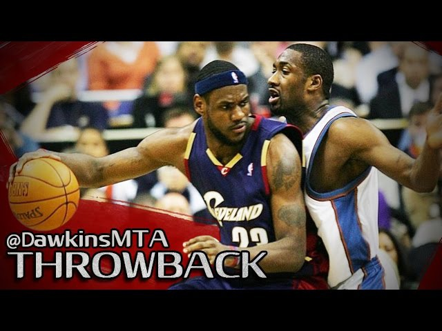 Gilbert Arenas 36 pts vs. Lebron James 32 pts (NBA Playoffs 2006 - Cleveland Cavaliers vs. Washington Wizards, Game 6) [HD]