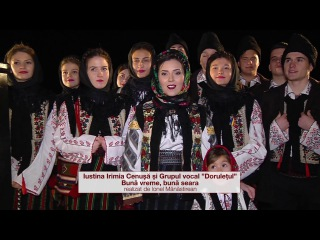 """Iustina Irimia-Cenușă și grupul vocal"""" Dorulețul"""" - Bună vreme, bună seara (colind) - 2016"""