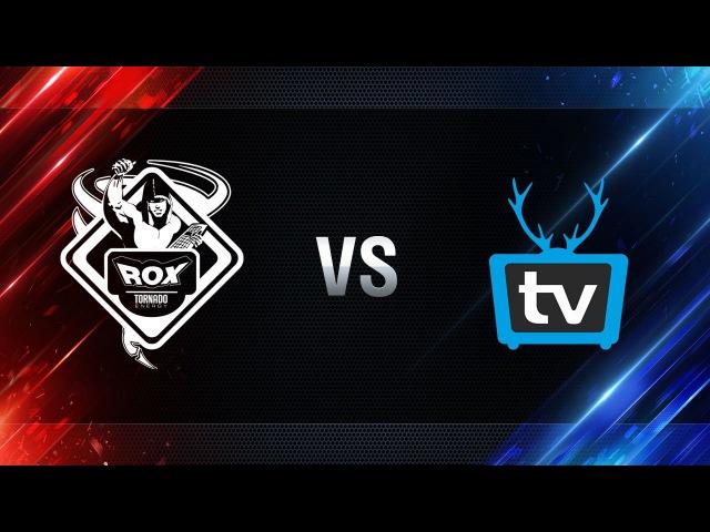 WePlay vs TORNADO.ROX REBORN - day 4 week 8 Season I Gold Series WGL RU 2016/17