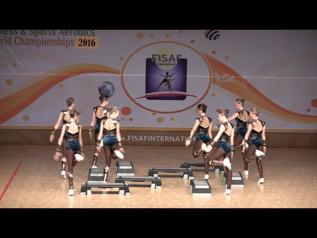 Первенство мира по фитнес-аэробике 2016, команда