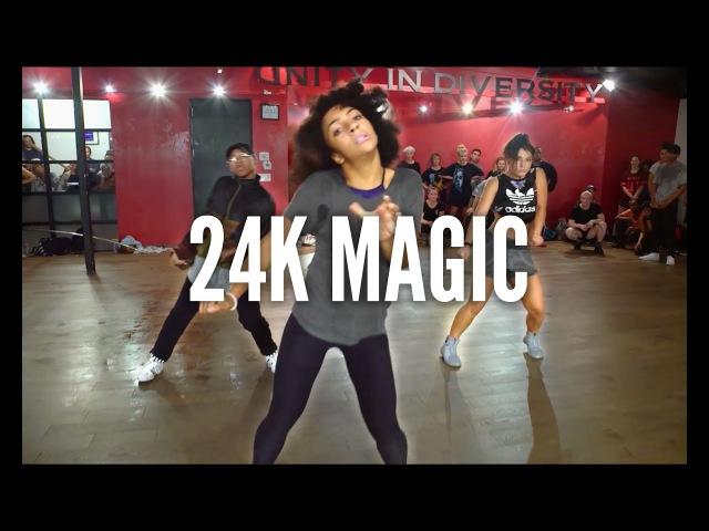 BRUNO MARS - 24K Magic   Kyle Hanagami Choreography