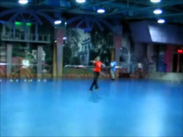 Pattinaggio artistico/ Inline figure skating - roller practice