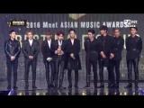 161202 EXO - Won Best Male Group ward on MAMA 2016