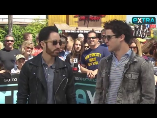 Live with Darren Criss and Chuck Criss talking about their band Computer Games Music!!