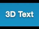 DangerPro - 3D текст на CSS3