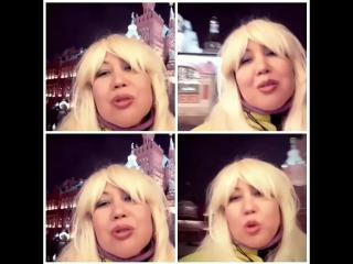 видеоселфи  видеоколлаж блондинка