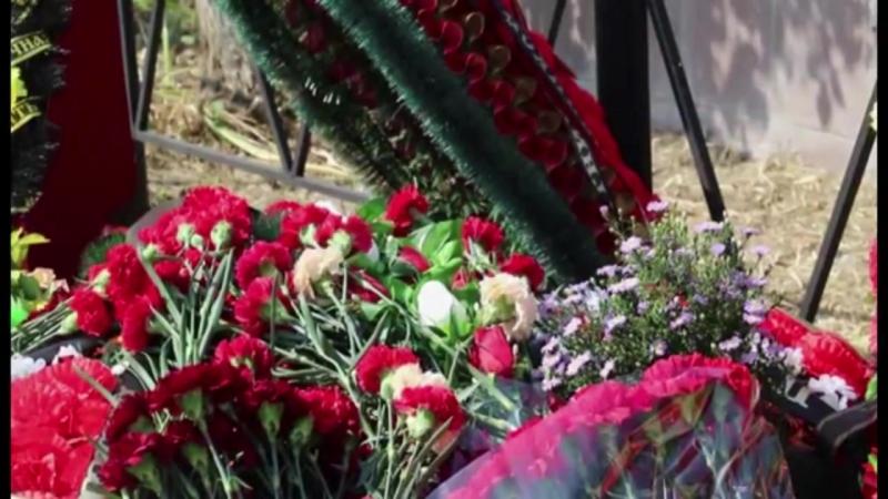 В Супсехе с почестями похоронили солдат погибших в Великой Отечественной Войне